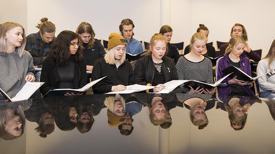 Bild för 'Estetiska programmet inriktning Musik'